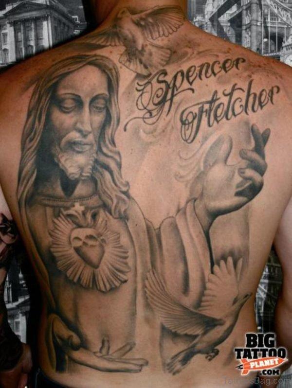 Jesus And Religious Tattoo