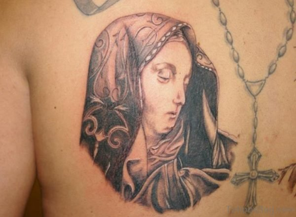 Jesus Mother Tattoo