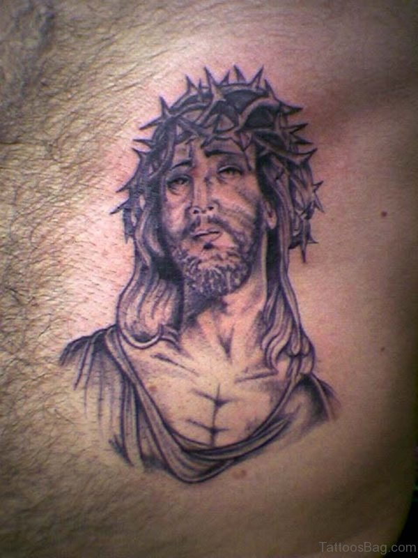 Jesus Tattoo Design