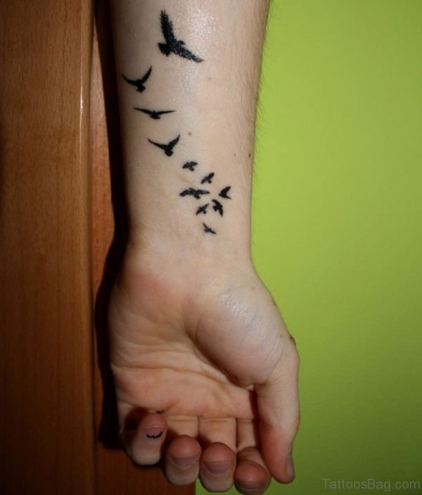 Large Birds Tattoo