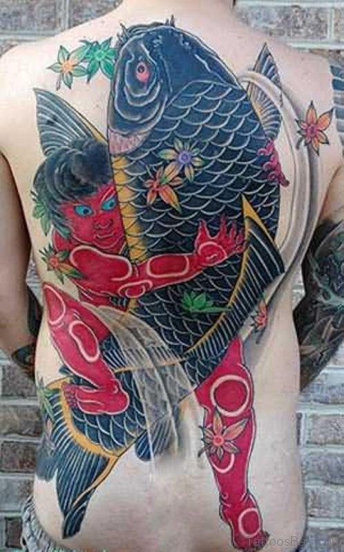 Large Fish Tattoo