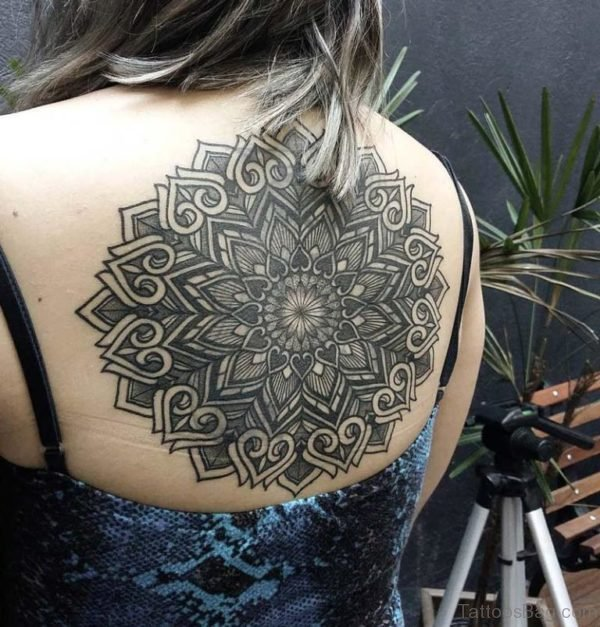 Large Mandala Tattoo On Back