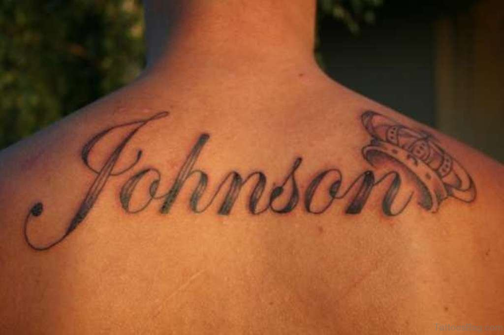 84 best name tattoos on back for Names with crown tattoos