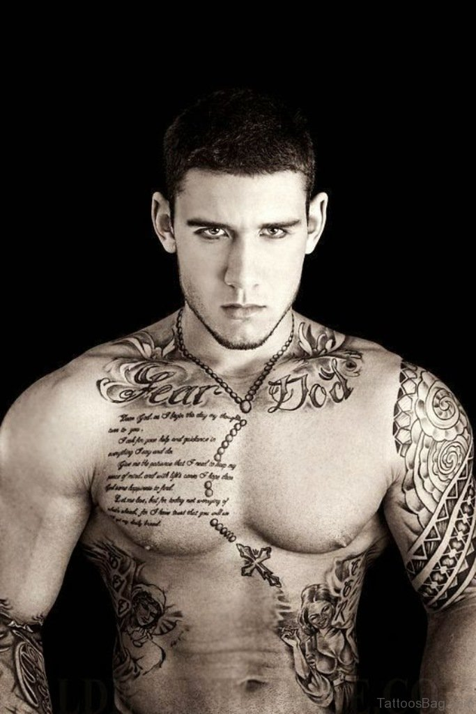 50 Fantastic Chest Tattoos For Men
