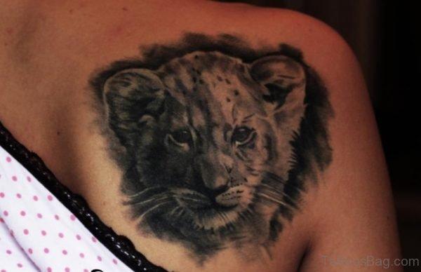 Lion Child Tattoo