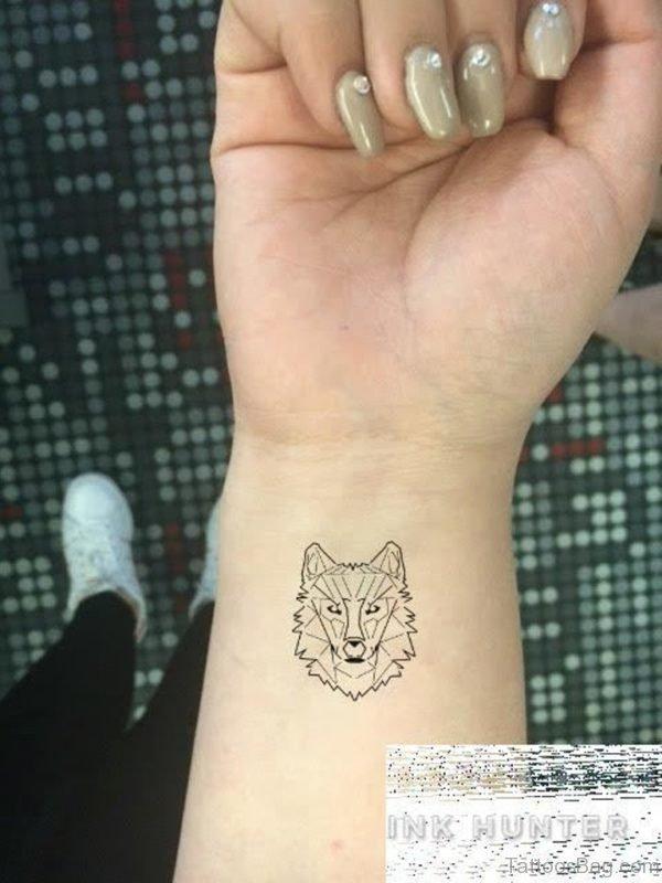 Geometric Tattoo On Wrist