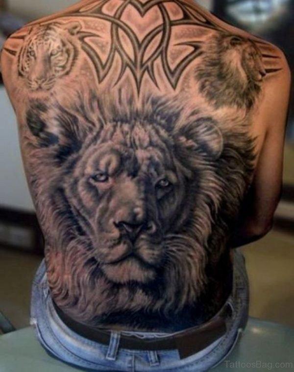 Lion Tattoo Design- BT1093TB1093