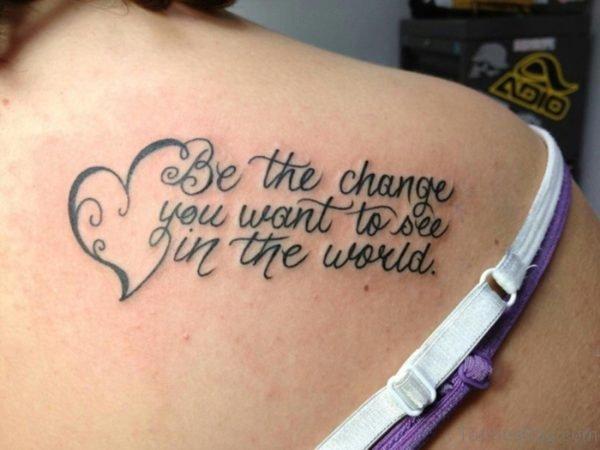 Literacy Tribal Designer Tattoo For Women