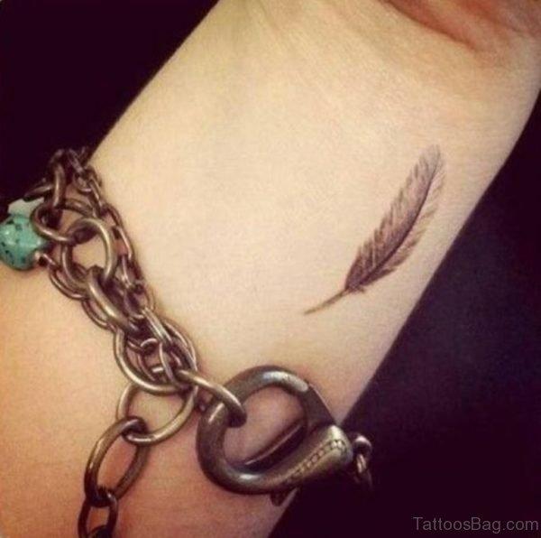 Little Feather Tattoo