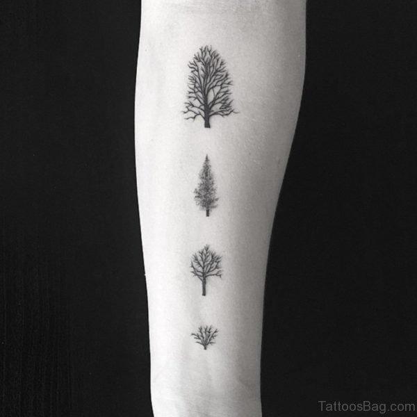 Little Trees Tattoo