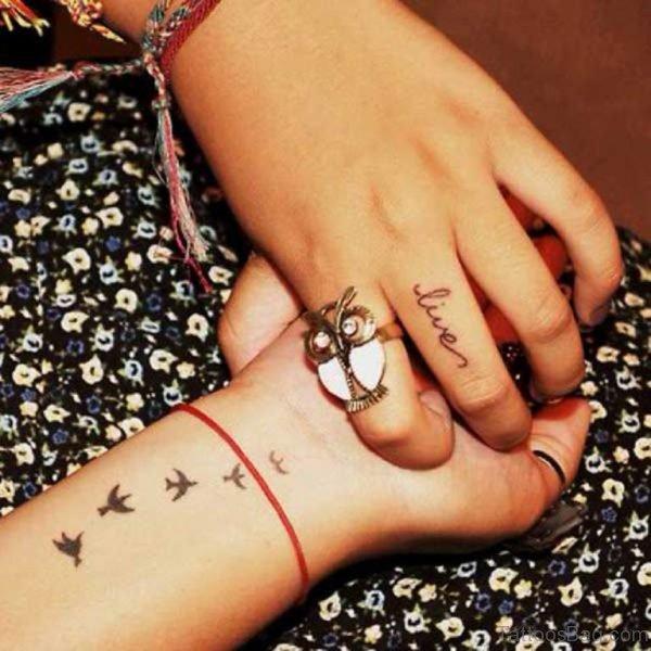 Live Word Tattoo