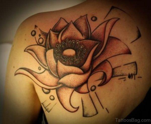 Fantastic Lotus Flower  Tattoo