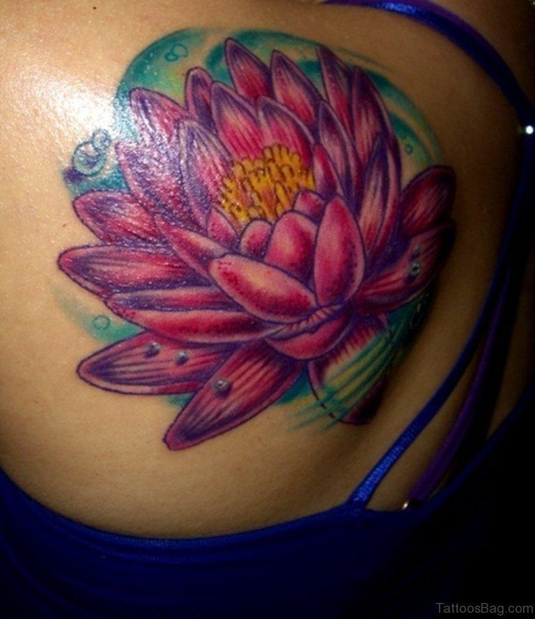 50 Exquisite Lotus Tattoos On Shoulder