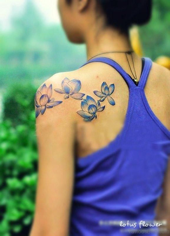 Lotus Tattoo Design