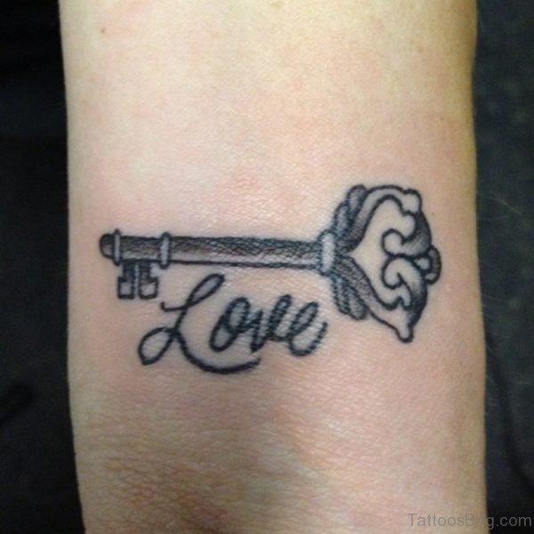 Love And Key Tattoo