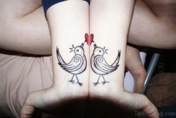 Love Birds Tattoo