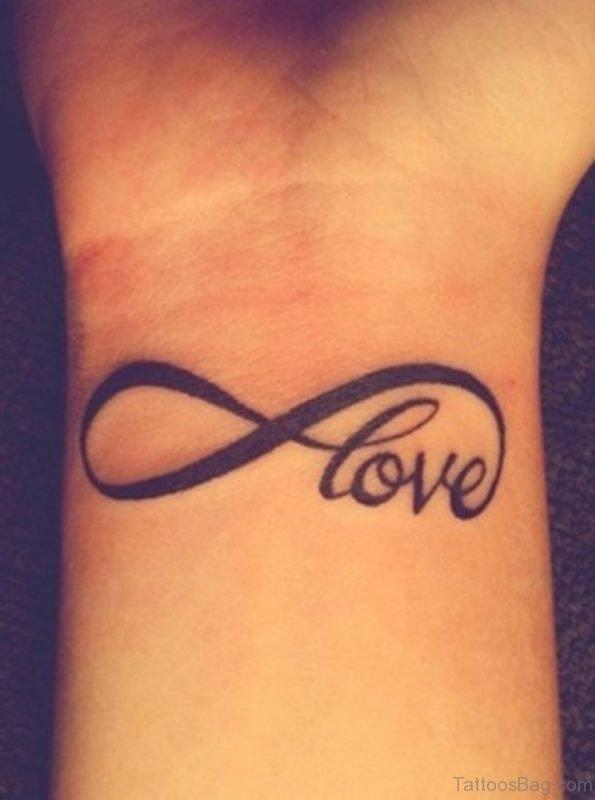 Love Tattoo On Wrist