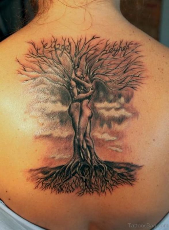 Love Tree Tattoo