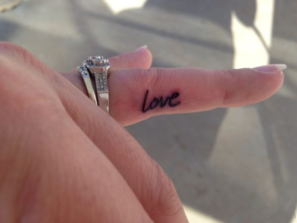 Love Word Tattoo