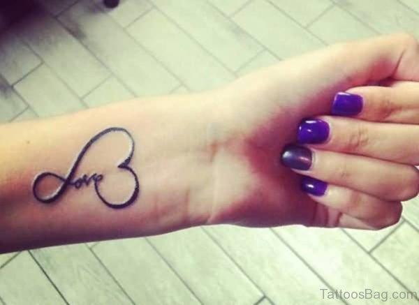 Love Word Tattoo