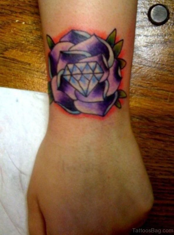 Lovely Diamond Tattoo