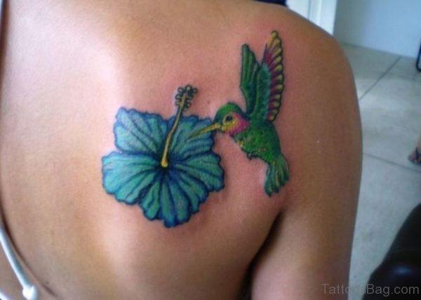 Lovely Hummingbird Tattoo