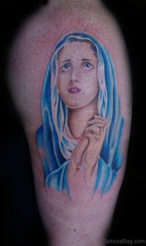 Lovely Mary Tattoo