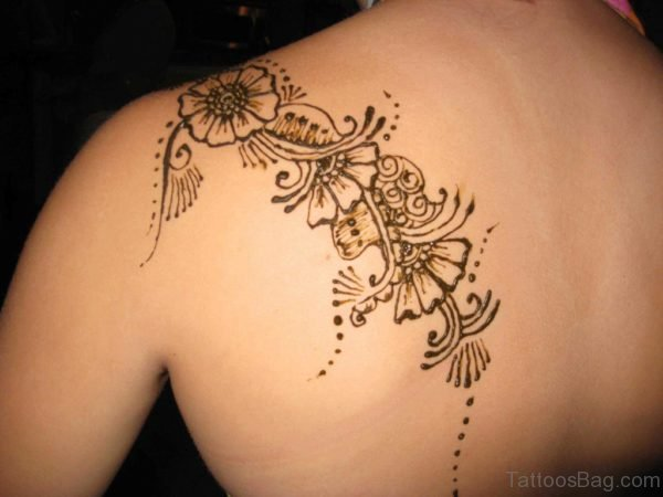Lovely Mehndi Tattoo