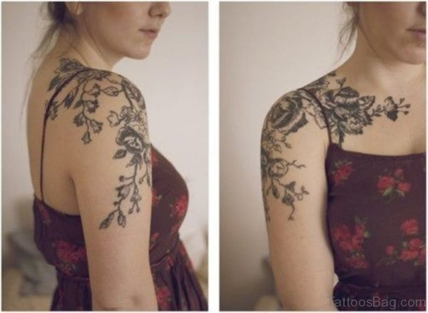 Lovely Roses Tattoo