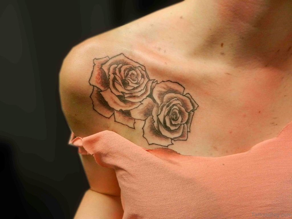 Flower Shoulder Tattoo Designs Flowers Healthy