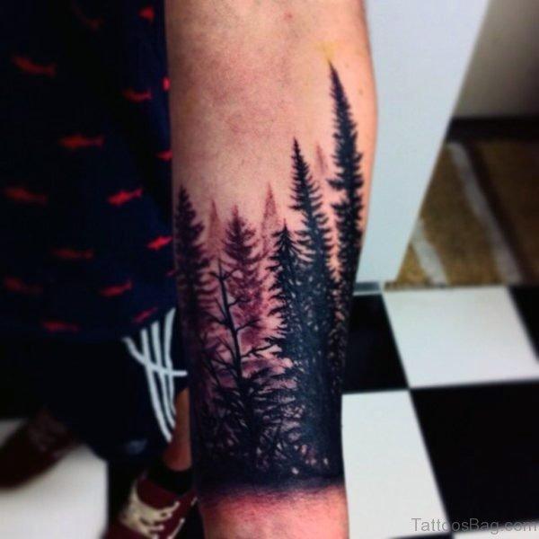 Lovely Tree Tattoo