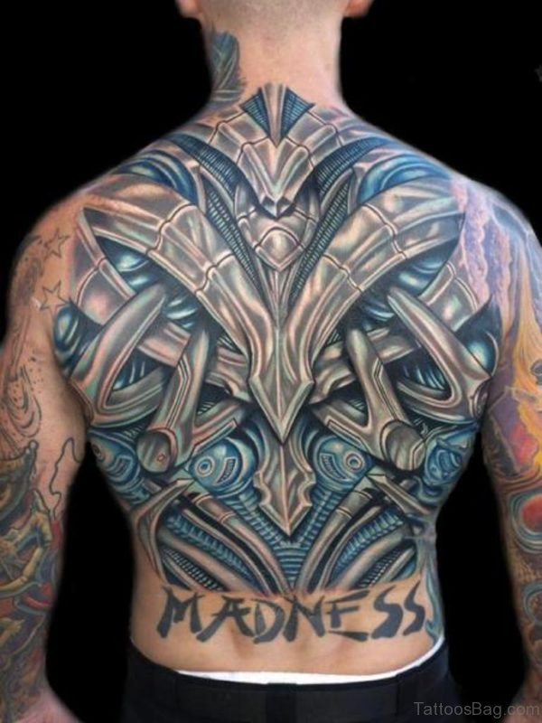 Magnificent Biomechanical Tattoo