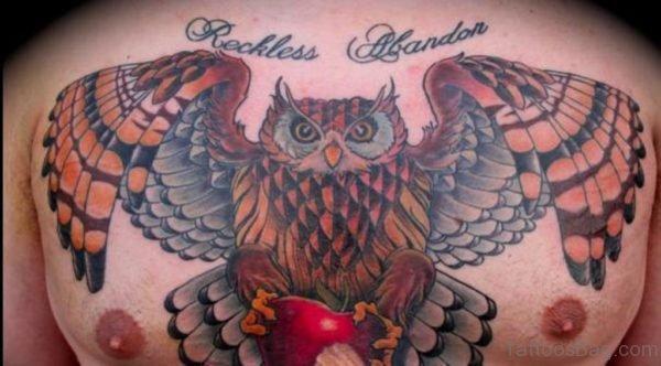 Magnificent Owl Tattoo