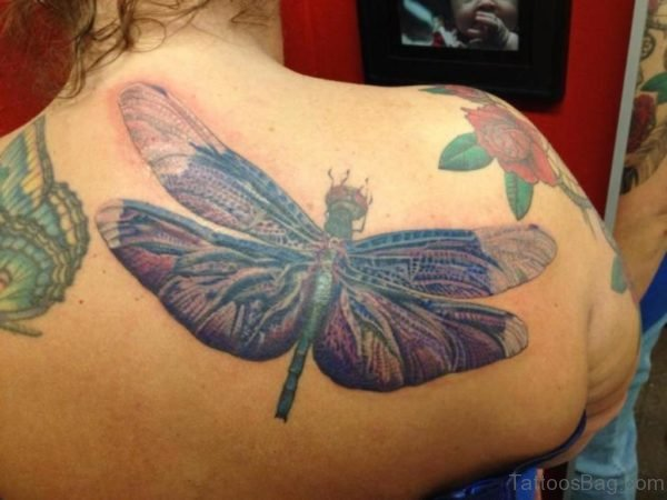 Magnificent Dragonfly Tattoo