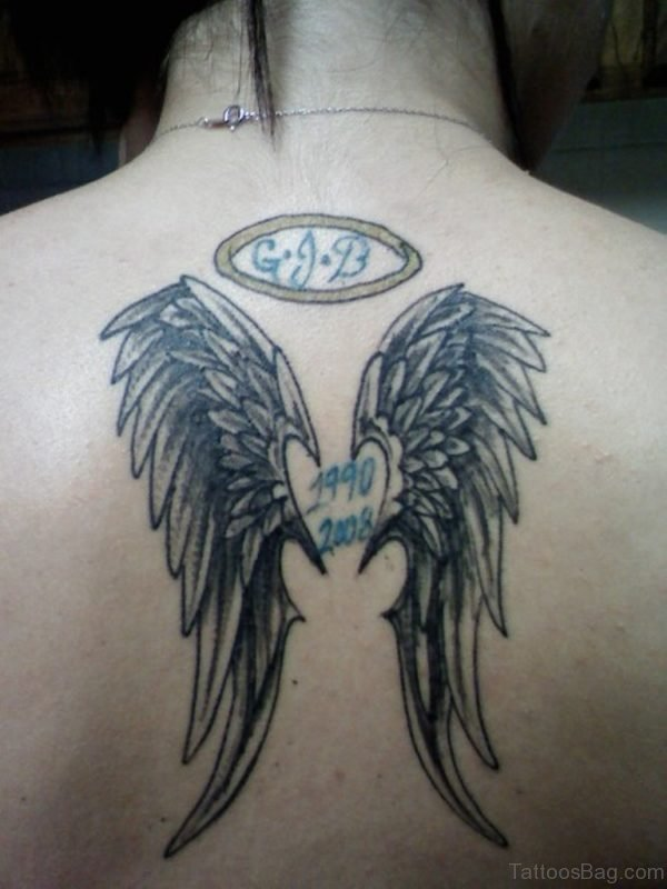 Magnificent Memorial Angel Tattoo