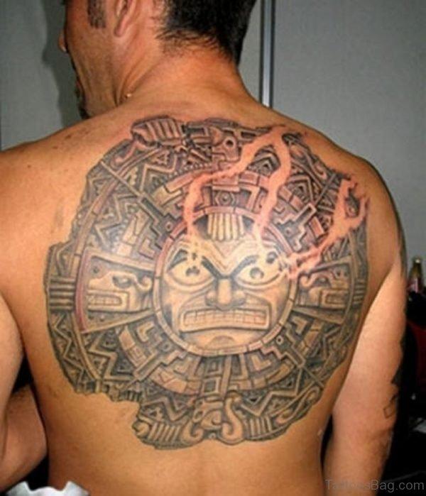 73 Modern Sun Tattoos For Back