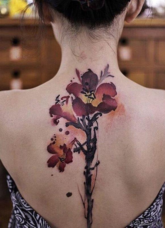 Magnificent Flower Tattoo