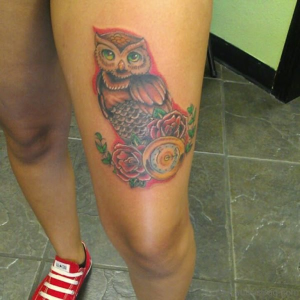 Magnificent Owl Tattoo