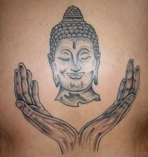 Mahatma Buddha Tattoo