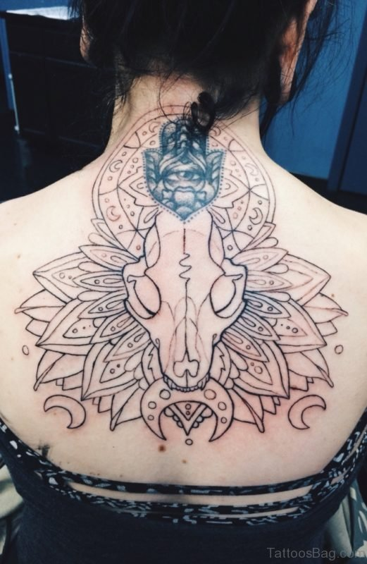 Mandala Deer Tattoo