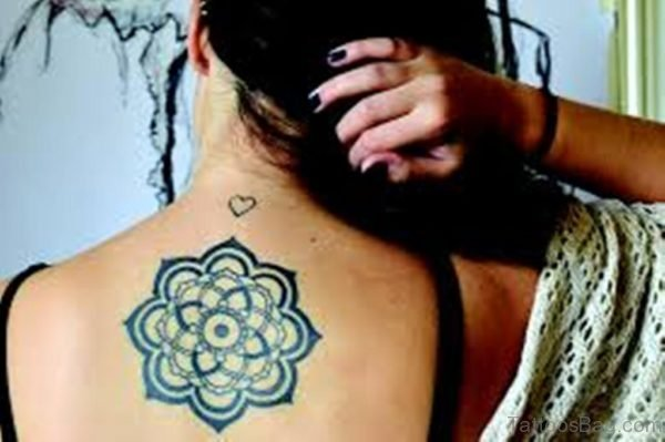 Mandala Tattoo On Back