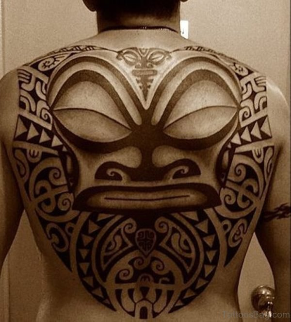 Maori Tattoo On Full Back