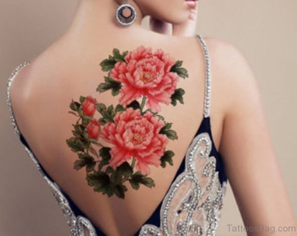 Marvelous Vintage Flower Tattoo