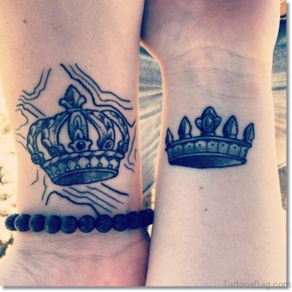 Matching Crown Tattoo