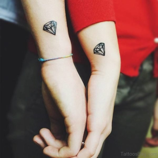 Matching Diamond Tattoo