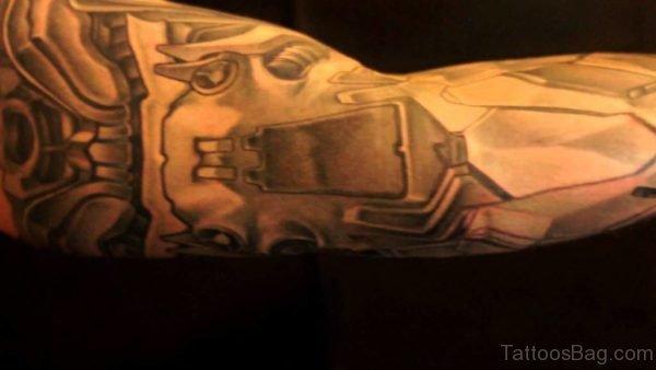 Mechanical Tattoo Image