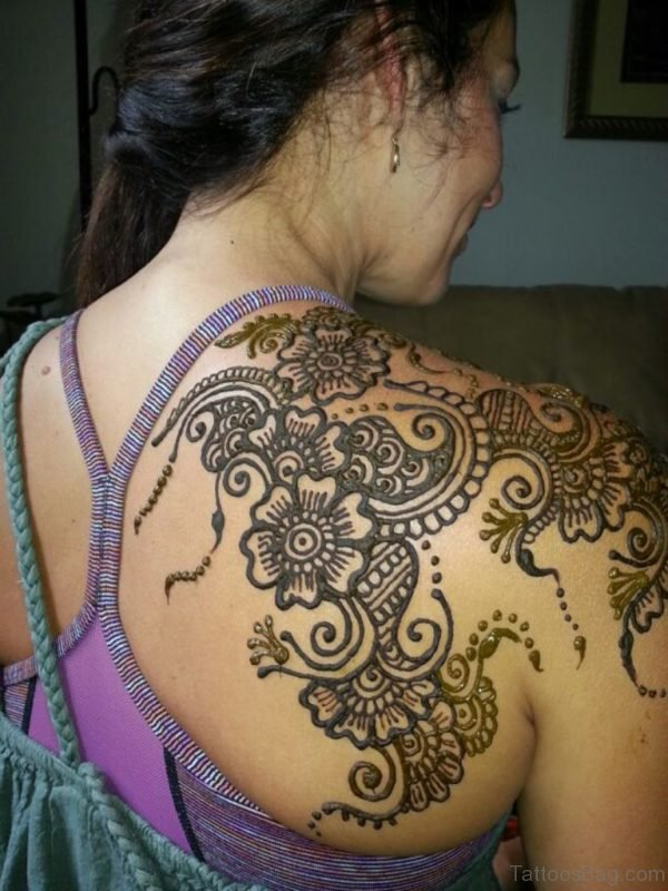 Mehndi Design Tattoo
