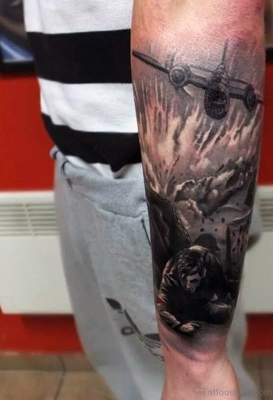 Military Men Tattoo