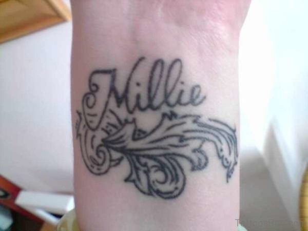 Millie Name Tattoo