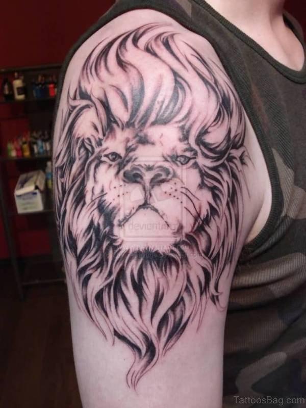 Mind Blowing Lion Tattoo